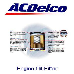 ACデルコ エンジンオイルエレメント PF64 シボレー コルベット カマロ キャデラック ATS CTS|6degrees|02