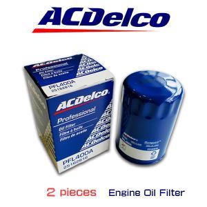 お買い得2個セット!ACデルコ エンジンオイルエレメント/PFL400A/フォード/マスタング/サンダーバード/リンカーン/MKX/ニュービートル|6degrees