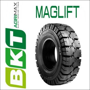 6.50-10MAGLIFT / BKT Tire・MAGLIFT(ノーパンク)フォークリフト用タイヤ 1本|6degrees