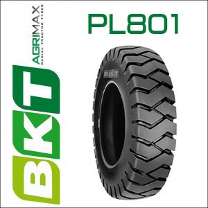 6.50-10 / BKT Tire・PL801フォークリフト用タイヤ 1本|6degrees