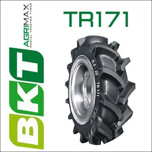 5.00-12 / BKT Tire・TR171 トラクター用ハイラグタイヤ 1本|6degrees