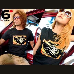 6DEGREES オリジナルTシャツ '71CAMARO・カマロ ブラック/アメ車/シボレー|6degrees