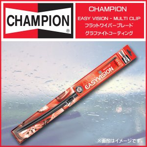 CHAMPION EF45 450mm チャンピオンイージーヴィジョンフラットワイパーブレード EASY-VISION グラファイトコーティング マルチクリップタイプ|6degrees