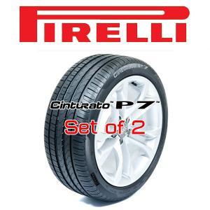 215/55R17・2本セット PIRELLI Tire・CINTURATO P7・ピレリタイヤ チンチュラートピーセブン|6degrees
