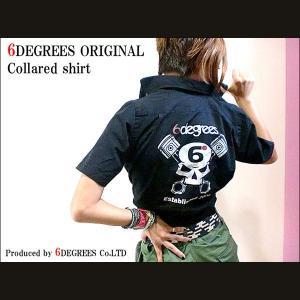 6DEGREES ORIGINAL COLLARED SHIRT (オリジナルシャツ) ワークシャツ/スタッフシャツ/アメ車/アメリカン|6degrees