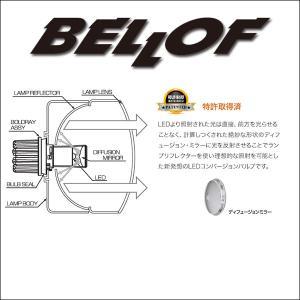 BELLOF (ベロフ) Sirius BOLDRAY LED FOG コンバージョンバルブ シリウス ボールド・レイ【2900k】|6degrees|03