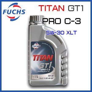 FUCHS フックス エンジンオイル TITAN GT1 PRO C-3/5W-30 1L|6degrees