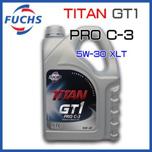 FUCHS フックス エンジンオイル TITAN GT1 PRO C-3/5W-30 4L|6degrees