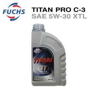FUCHS フックス エンジンオイル TITAN PRO C-3 SAE 5W-30 XTL 1L A601426414 6degrees