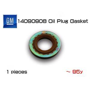 GM純正エンジンオイルドレンパッキン(ガスケット)14090908(〜95y)/シボレー/キャデラック|6degrees