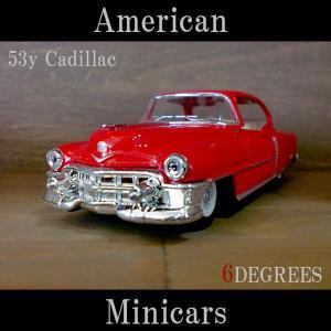 American Minicars アメリカンミニカーズ/53y Cadillac RED/キャデラック レッド|6degrees