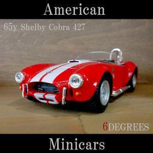 American Minicars アメリカンミニカーズ/65y Shelby Cobra 427 RED/シェルビーコブラ レッド/フォード|6degrees