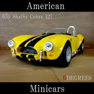 American Minicars アメリカンミニカーズ/65y Shelby Cobra 427 YELLOW/シェルビーコブラ イエロー/フォード|6degrees