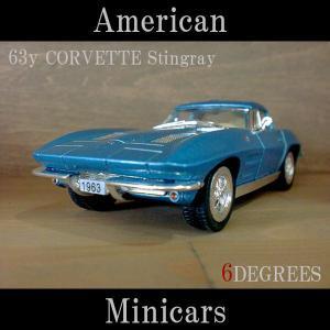 American Minicars アメリカンミニカーズ/63y CORVETTE Stingray BLUE/コルベットスティングレイ ブルー/C2/シボレー|6degrees