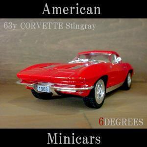 American Minicars アメリカンミニカーズ/63y CORVETTE Stingray RED/コルベットスティングレイ レッド/C2/シボレー|6degrees