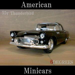 American Minicars アメリカンミニカーズ/55y Thunderbird BLACK/サンダーバード ブラック/フォード|6degrees