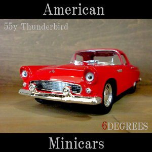 American Minicars アメリカンミニカーズ/55y Thunderbird RED/サンダーバード レッド/フォード|6degrees