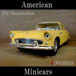 American Minicars アメリカンミニカーズ/55y Thunderbird YELLOW/サンダーバード イエロー/フォード|6degrees