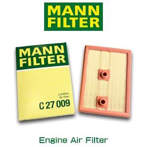 MANN FILTER マンフィルター C27009 エンジン エアー フィルター 輸入車用 VW フォルクスワーゲン ゴルフ ゴルフバリアント|6degrees