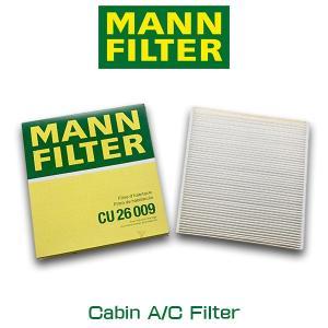 MANN FILTER マンフィルター CU26009 エアコン キャビン フィルター 輸入車用 VW フォルクスワーゲン ゴルフ パサート トゥーラン|6degrees