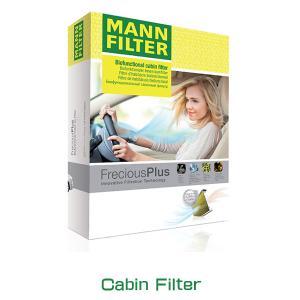 MANN FILTER マンフィルター FP-B04 エアコン キャビン フィルター フレシャスプラス 輸入車用 ポリフェノール BMW 3、M3、X3シリーズ(E46/E83)|6degrees