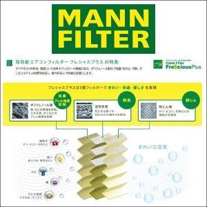 MANN FILTER マンフィルター FP25007 エアコン キャビン フィルター フレシャスプラス 輸入車用 ポリフェノール FORD クーガ13、フォーカス3、VOLVO V40-2|6degrees|02