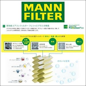 MANN FILTER マンフィルター FP2533-2 エアコンフィルター フレシャスプラス 輸入車用  BMW 5、M5、6、M6、7シリーズ ロールスロイス Dawn、Ghost、Wraith 6degrees 02