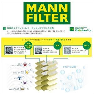 MANN FILTER マンフィルター FP4436 エアコン キャビン フィルター フレシャスプラス 輸入車用 ポリフェノール BMW MINI R55-R61|6degrees|02