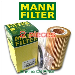 お買い得2個セット MANN FILTER マンフィルター HU 719/6x VW GOLF5 2.0FSI GTI AOPOF034|6degrees