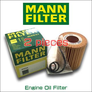 お買い得2個セット MANN FILTER マンフィルター HU 815/2x BMW 1シリーズ(E81/87)116i 118i 120i 3シリーズ(E46/90/91) 318i 320i/AOPOF038|6degrees
