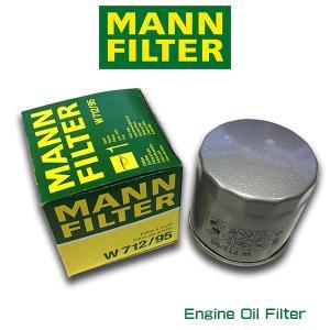 MANN FILTER マンフィルター W712/95  フォルクスワーゲン ゴルフ7 ポロ5/AOPOF075|6degrees