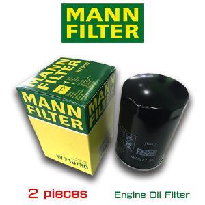 お買い得2個セット/MANN FILTER マンフィルター W719/30 フォルクスワーゲン/ニュービートル/GOLF4|6degrees