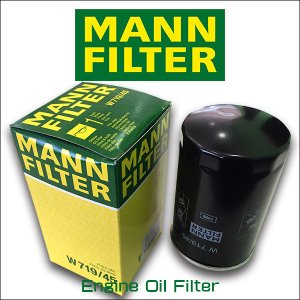 MANN FILTER マンフィルター W719/45 VW GOLF6 2.0GTI/フォルクスワーゲン/ゴルフ/AOPOF057|6degrees