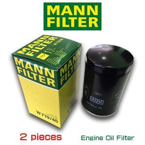 お買い得2個セット/MANN FILTER マンフィルター W719/45 VW GOLF6 2.0GTI/フォルクスワーゲン/ゴルフ|6degrees