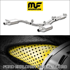 MAGNAFLOW CAT-BACK EXHAUST SYSTEM FORD EXPLORER V6 3.5L TURBO #19273 マグナフロー エクスプローラー マフラー アメ車|6degrees