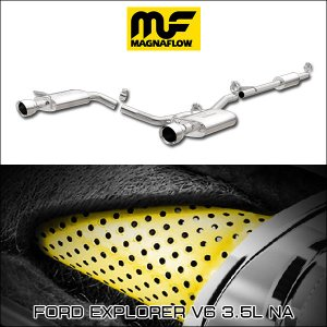 MAGNAFLOW CAT-BACK EXHAUST SYSTEM FORD EXPLORER V6 3.5L NA #19274 マグナフロー エクスプローラー マフラー アメ車|6degrees