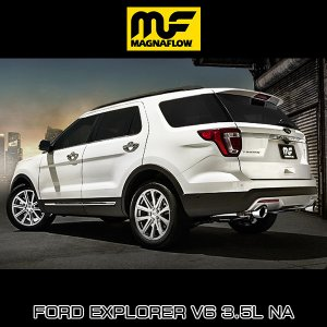 MAGNAFLOW CAT-BACK EXHAUST SYSTEM FORD EXPLORER V6 3.5L NA #19274 マグナフロー エクスプローラー マフラー アメ車|6degrees|02