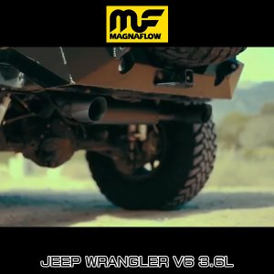 MAGNAFLOW CAT-BACK EXHAUST SYSTEM JEEP WRANGLER V6 3.6L #19326 マグナフロー JK ラングラー マフラー アメ車 6degrees 02