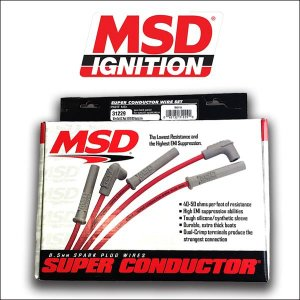 MSD IGNITION/31229 8.5mm スパークプラグワイヤーセット/V8/アメ車|6degrees