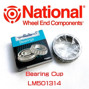 National/Pinion Barings LM501314 デフベアリング、SIDE(CAP)7.625/8.25RG アメ車|6degrees