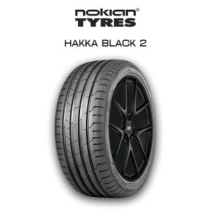 送料無料・nokian HAKKA BLACK 2 235/45R18 Summer Tire ノキアン サマータイヤ レクサス GS フォルクスワーゲン ザ・ビートル 他 6degrees