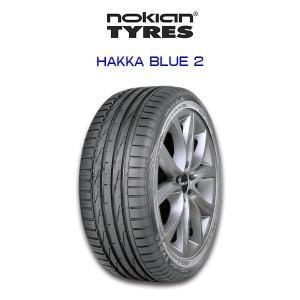 送料無料・nokian HAKKA BLUE 2 205/60R16 Summer Tire ノキアン サマータイヤ トヨタ ノア ヴォクシー ホンダ ステップワゴン 他ミニバン 6degrees