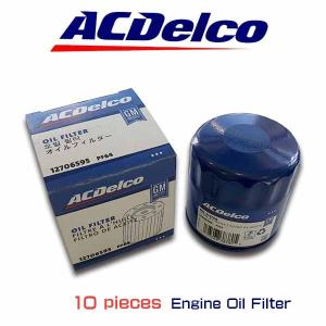 お買い得10個セット!ACデルコ エンジンオイルエレメント PF48E(PF1250互換製品) FORD車 マスタング ナビゲーター チャージャー|6degrees