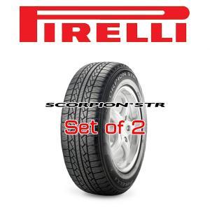 275/55R20・2本セット PIRELLI Tire・SCORPION STR・ピレリタイヤ スコーピオン・STR|6degrees