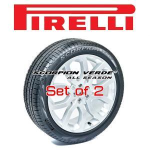 225/60R17・2本 PIRELLI Tire・SCORPION VERDE ALL SEASON・ピレリ スコーピオン・ヴェルデ・オールシーズン JEEPコンパス純正サイズ他 17インチ 6degrees