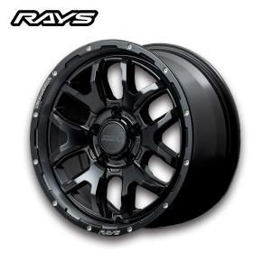送料無料・4本セット RAYS レイズ ホイール DAYTNA デイトナ F6 boost 17x7J +40 5H/127 ラングラー 専用設計|6degrees