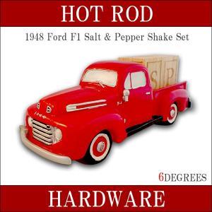 1948 Ford F1 Salt & Pepper Shaker Set / フォードF1ソルト&ペッパーシェイカーセット / フォード/キッチン/雑貨/アメリカン/アメ車/HOT ROD|6degrees