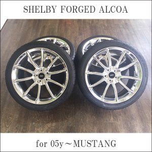 中古/SHELBY FORGED ALCOA/シェルビーフォージドアルコア/NITTO NT555/ニットー/20inch/9J&10J/PCD114.3/+24mm&+36.7mm/245/40ZR20&275/35ZR20|6degrees
