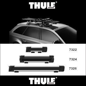 THULE SnowPack (スーリー・スノーパック) TH7324 キャリアラック アウトドア ウィンター|6degrees