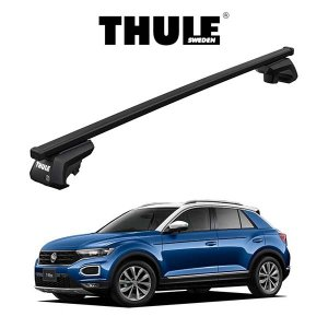 VW T-Roc スクエアバー ルーフラック 『車種別セット』THULE Base carriers (スーリーベースキャリア) キャリアラック パーツ 6degrees